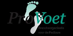Logo brancheorganisatie voor de Pedicure